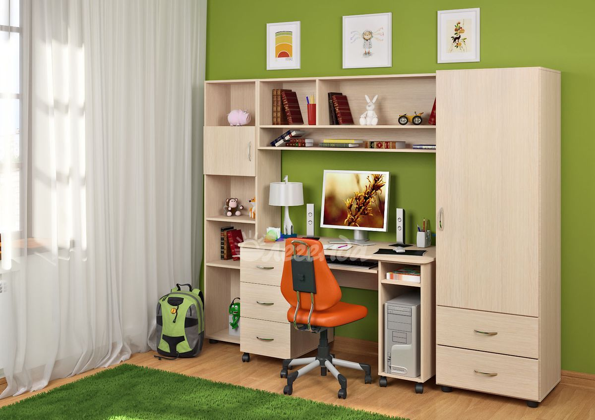Купить комплект детской мебели легенда 4.