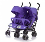 Коляска Baby Care City Twin Violet